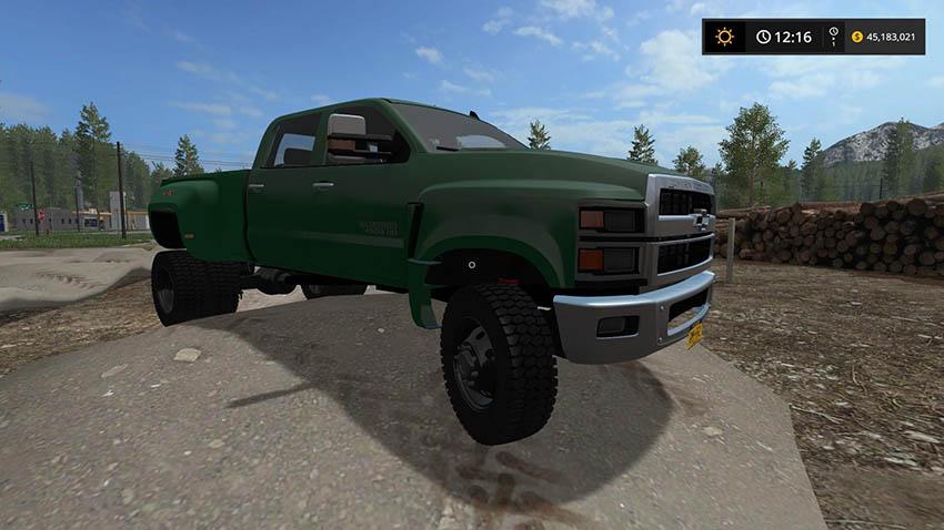 Chevy 4500 Pickup Truck v 1.0