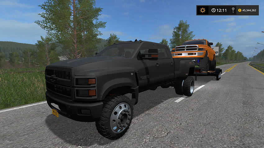 Chevy 4500 Pickup Truck v 1.0