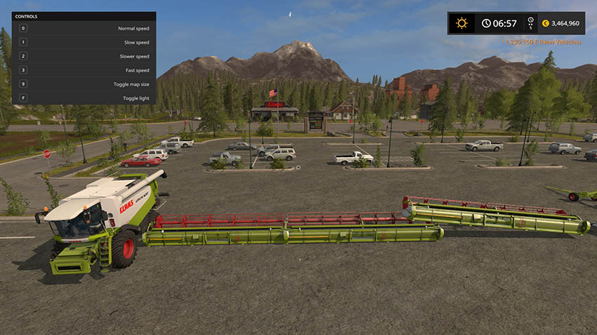 Claas Lexion 600 Full Pack v 1.0