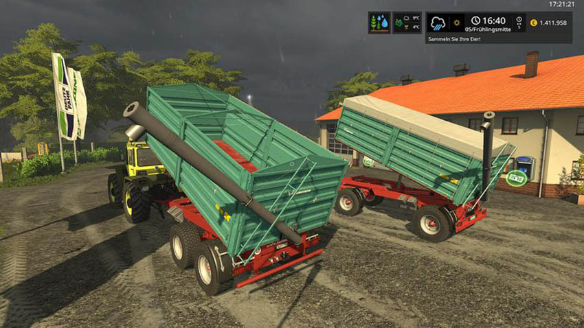 Farmtech Trailer Set DH v 1.0