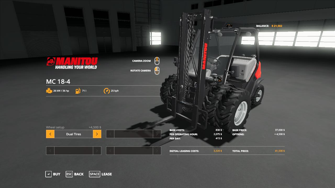 Forklift Duallies & Weighted Duallies v 1.0