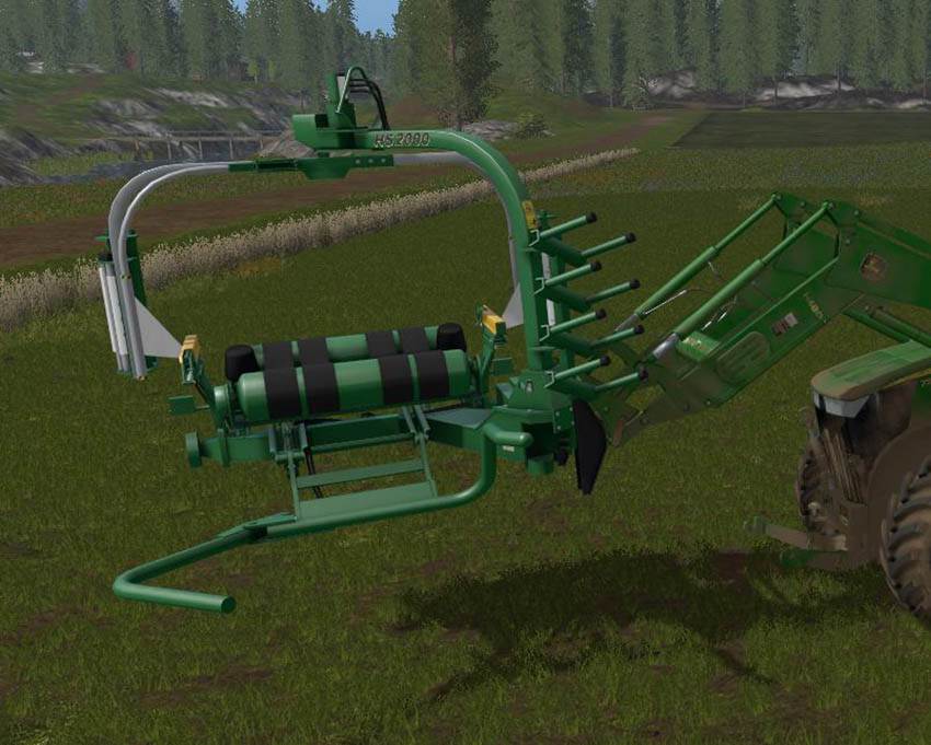 Front Load Bale Wrapper v 1.0