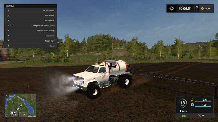 Fs Sprayer v 1.0