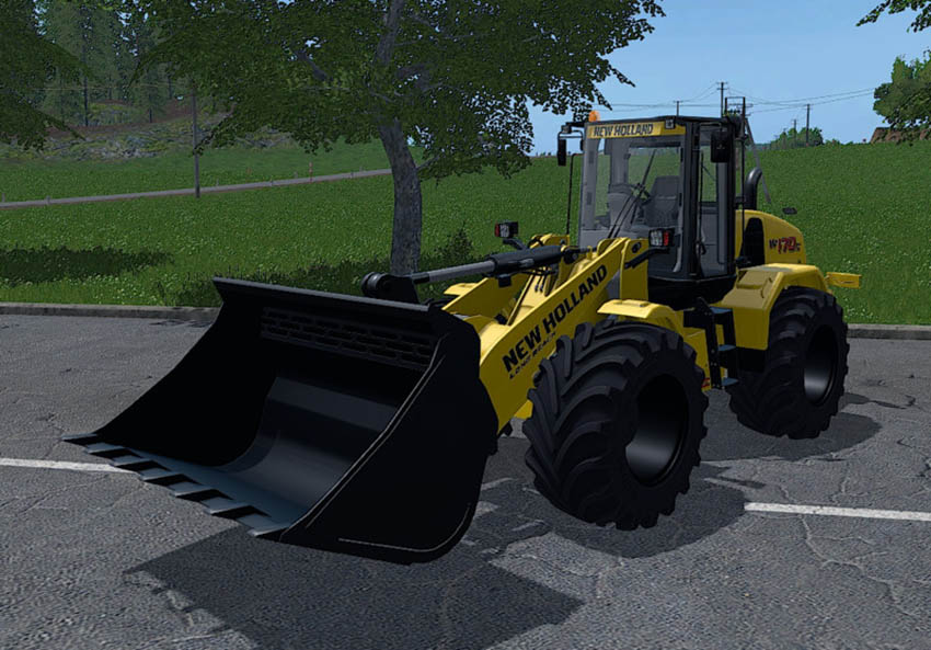 Hew Holland wheel loader v 1.4.0.4