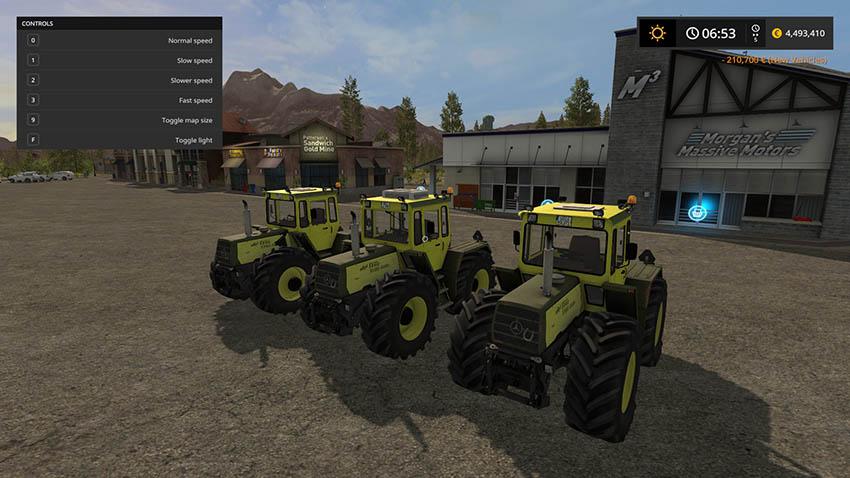 MB Trac 1300/1500 Full Pack v 2.0