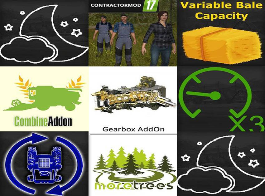 MOD PACK FEATURE v 1.0
