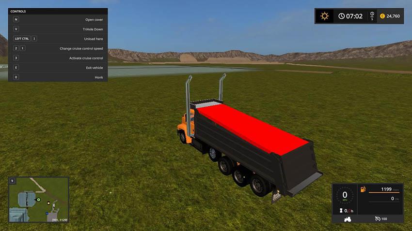 Mack vision dump truck V 1.0