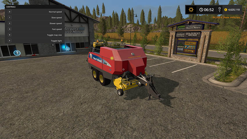 New Holland BB960A American v 1.0