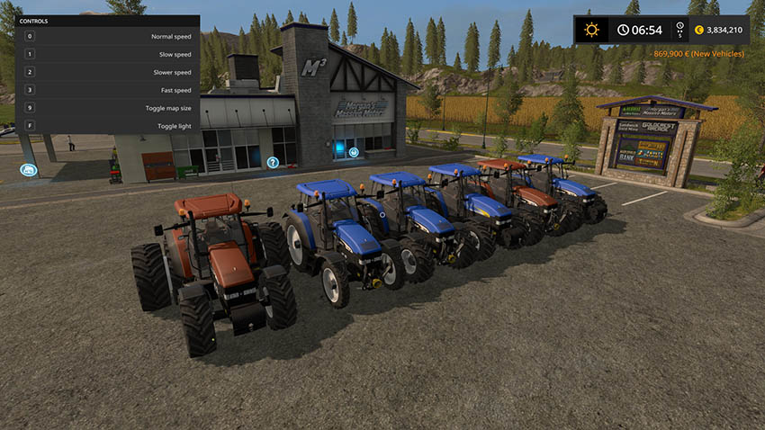 New Holland TM 175/190 v 1.0 MR Edition