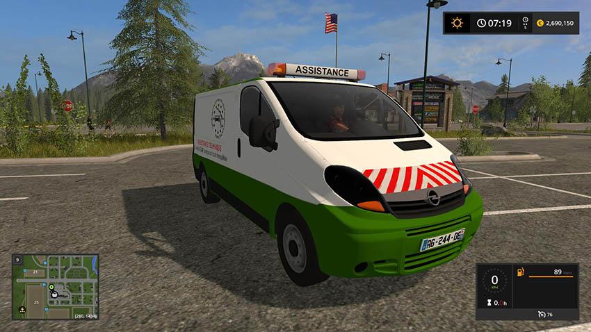 Opel Vivaro v 1.01