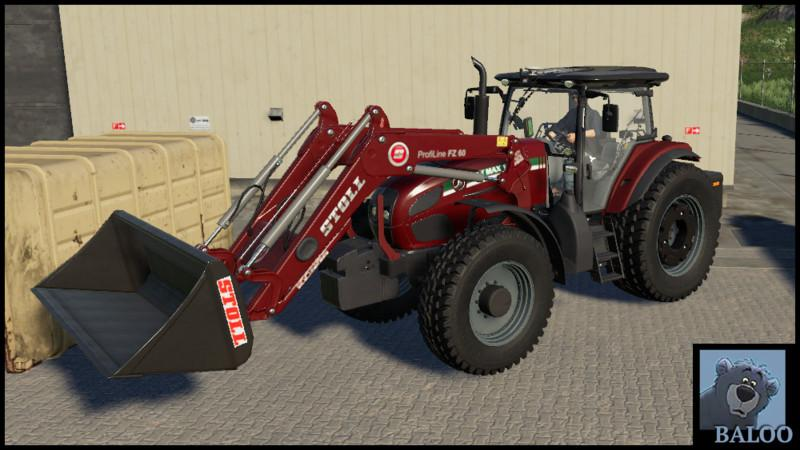 ST MAX 180 with FRONT LOADER v 1.0