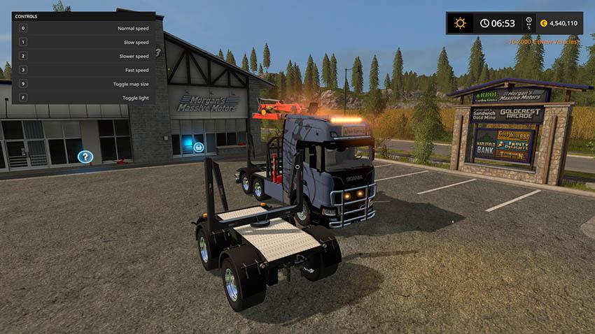Scania S long wood v 1.0