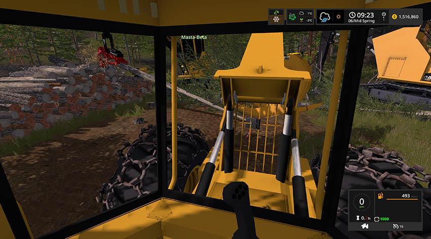 Tigercat 630D Skidder v 0.9