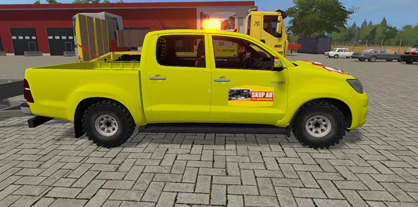 Toyota Hilux Skup zlomu v 1.0
