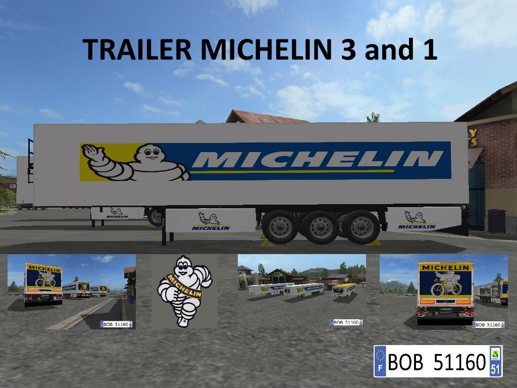 Trailer MICHELIN 3and1 v 1.1