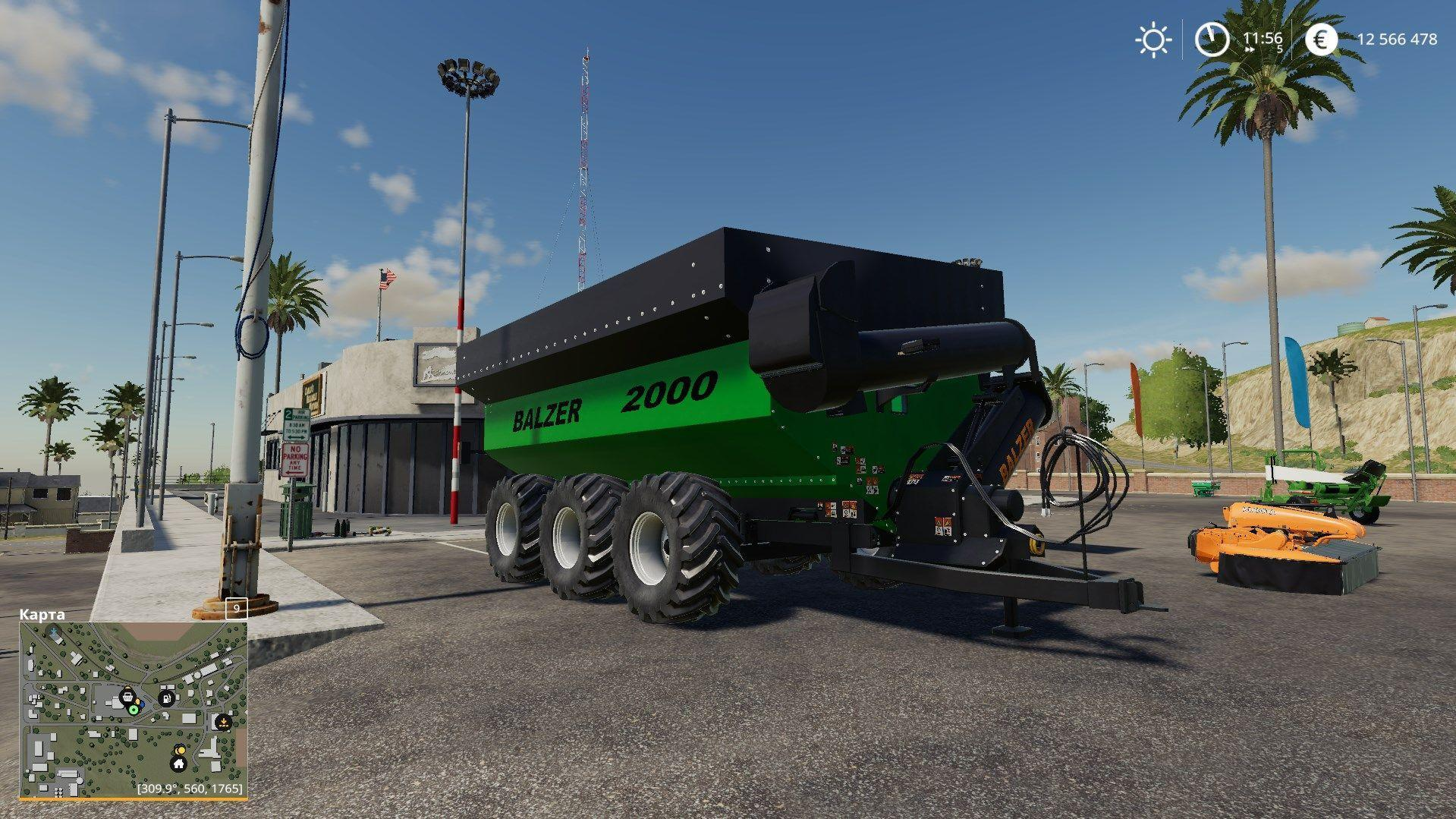 BALZER 2000 GRAIN CART v 1.0