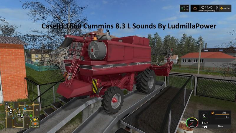 Case IH 1660 Sounds By LudmillaPower v 2.0