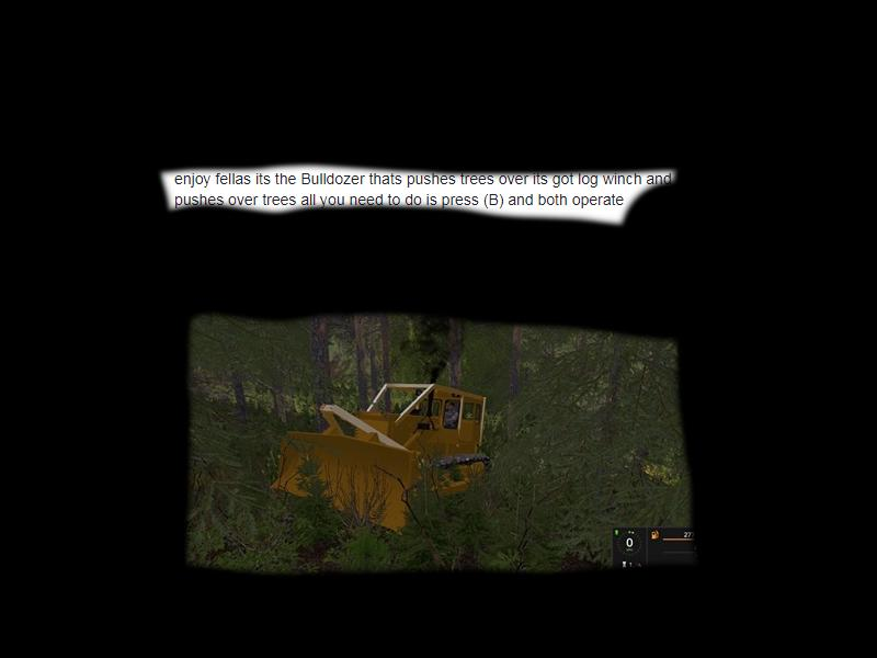D6 land clearing dozer v 1.0