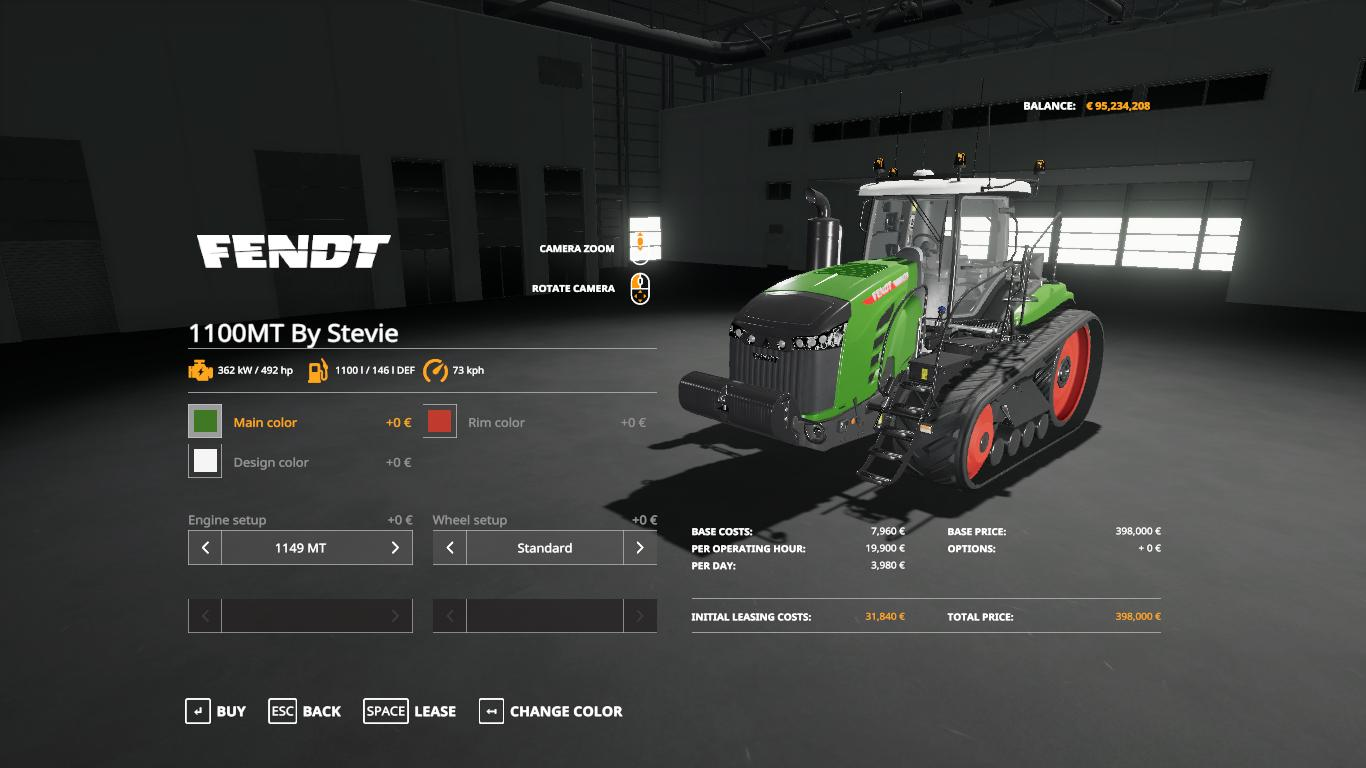 Fendt MT1100 series by Stevie