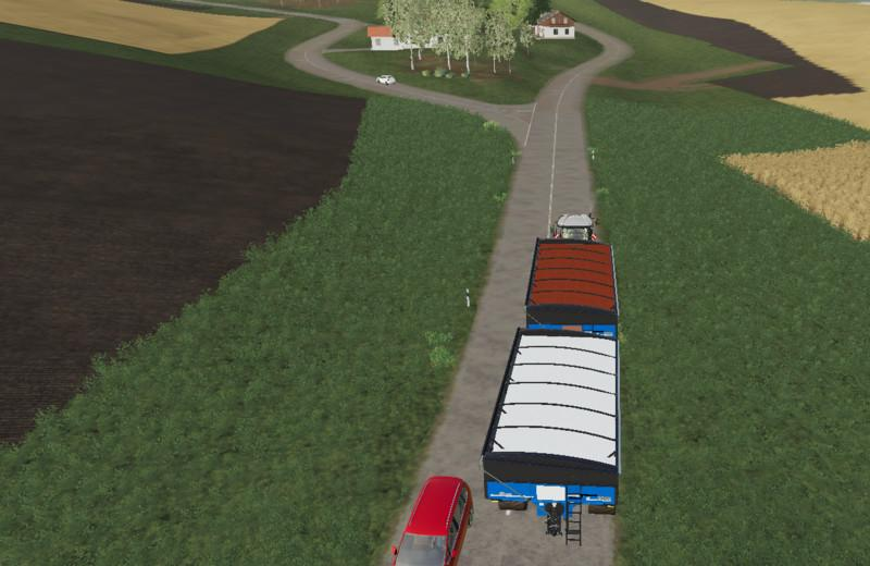 Haul Master with trailer coupling v 1.0
