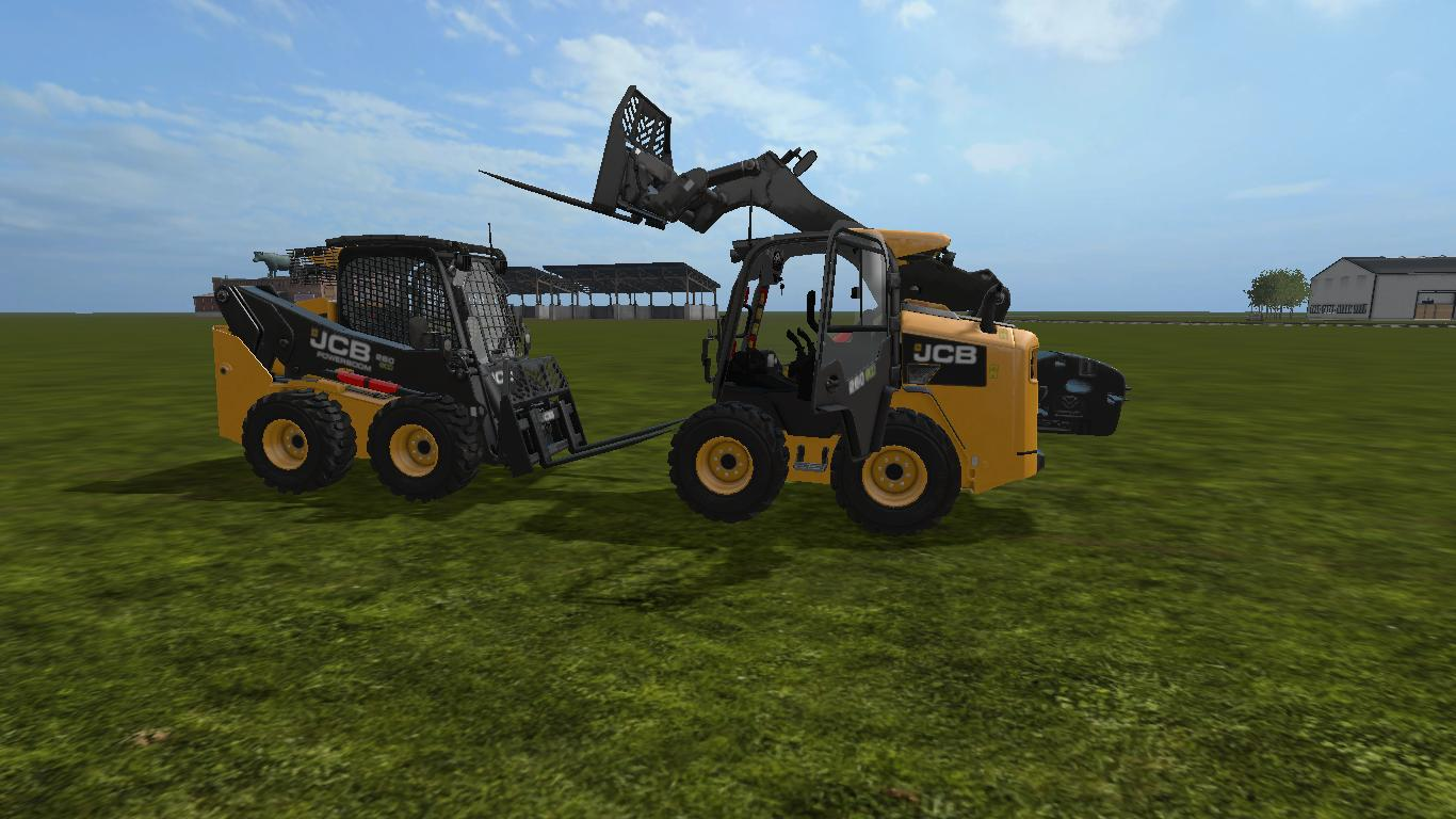 JCB Skidsteer with Weight v 1.1.5.5