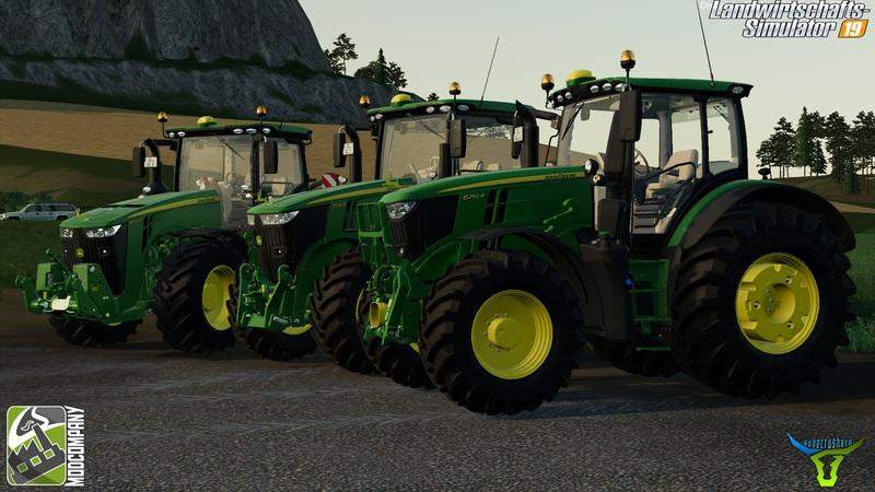 John Deere R-Series Pack by BC6