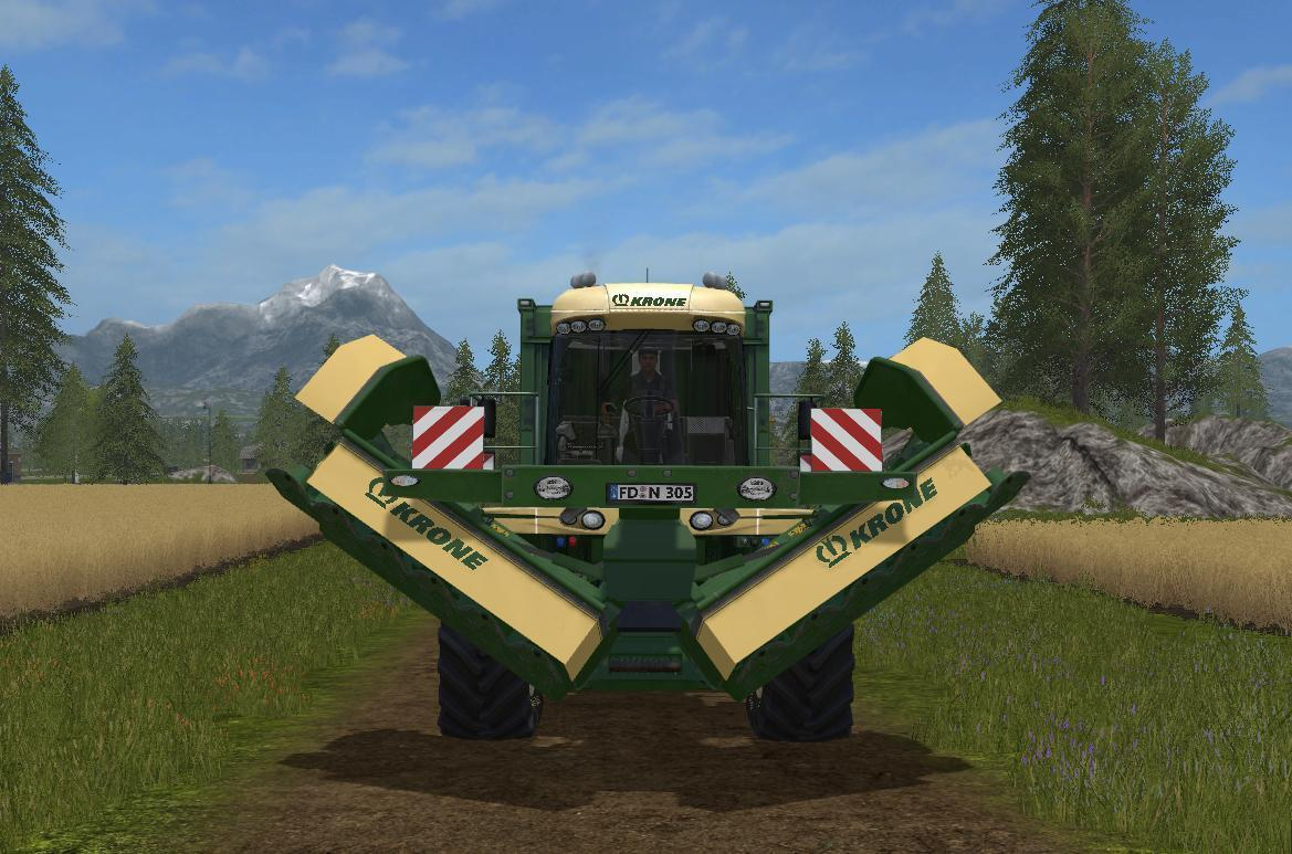 KRONE BIG MOWER UPDATE2 v 1.0.0.4B
