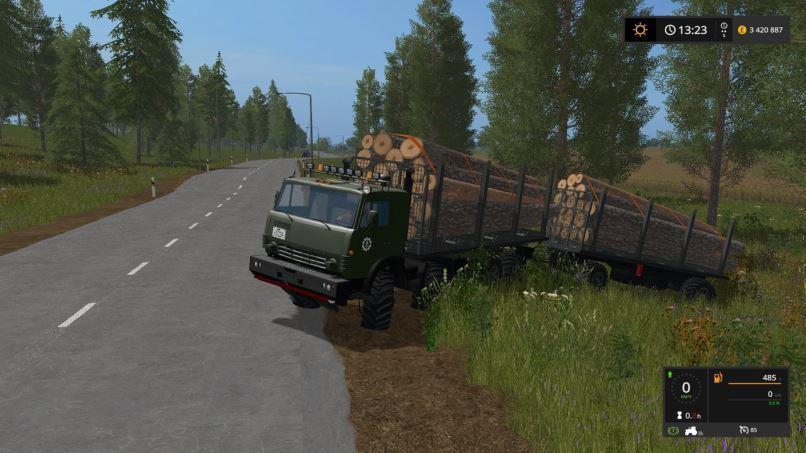 Kamaz Pack 8x8 Timber truck Beta