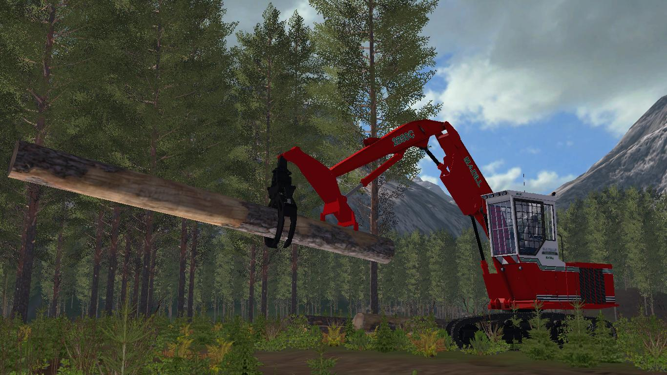 MADILL 2850C SHOVEL LOADER v 1.0