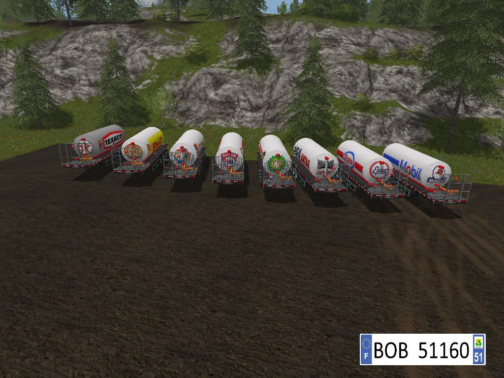 Packs 8 Trailers Fuel v 2.0