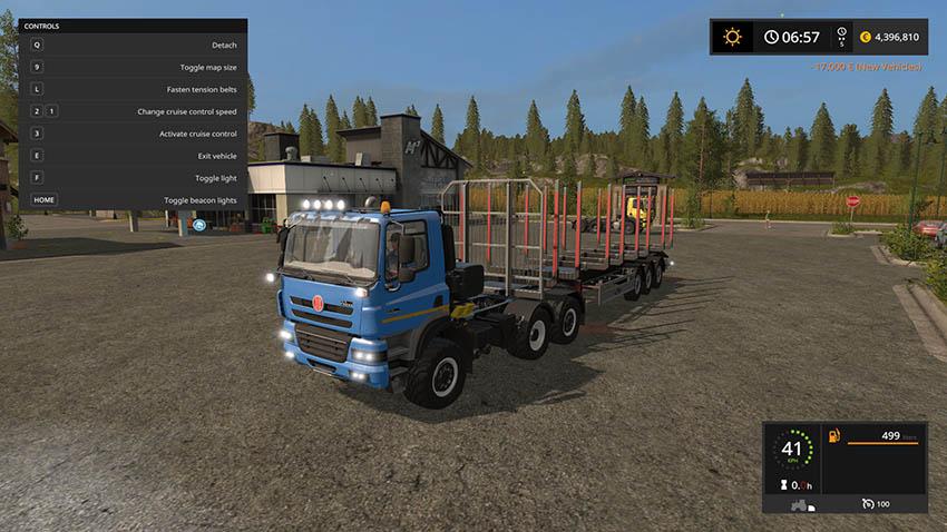 Tatra Phoenix 6x6 Agro Truck v 2.0