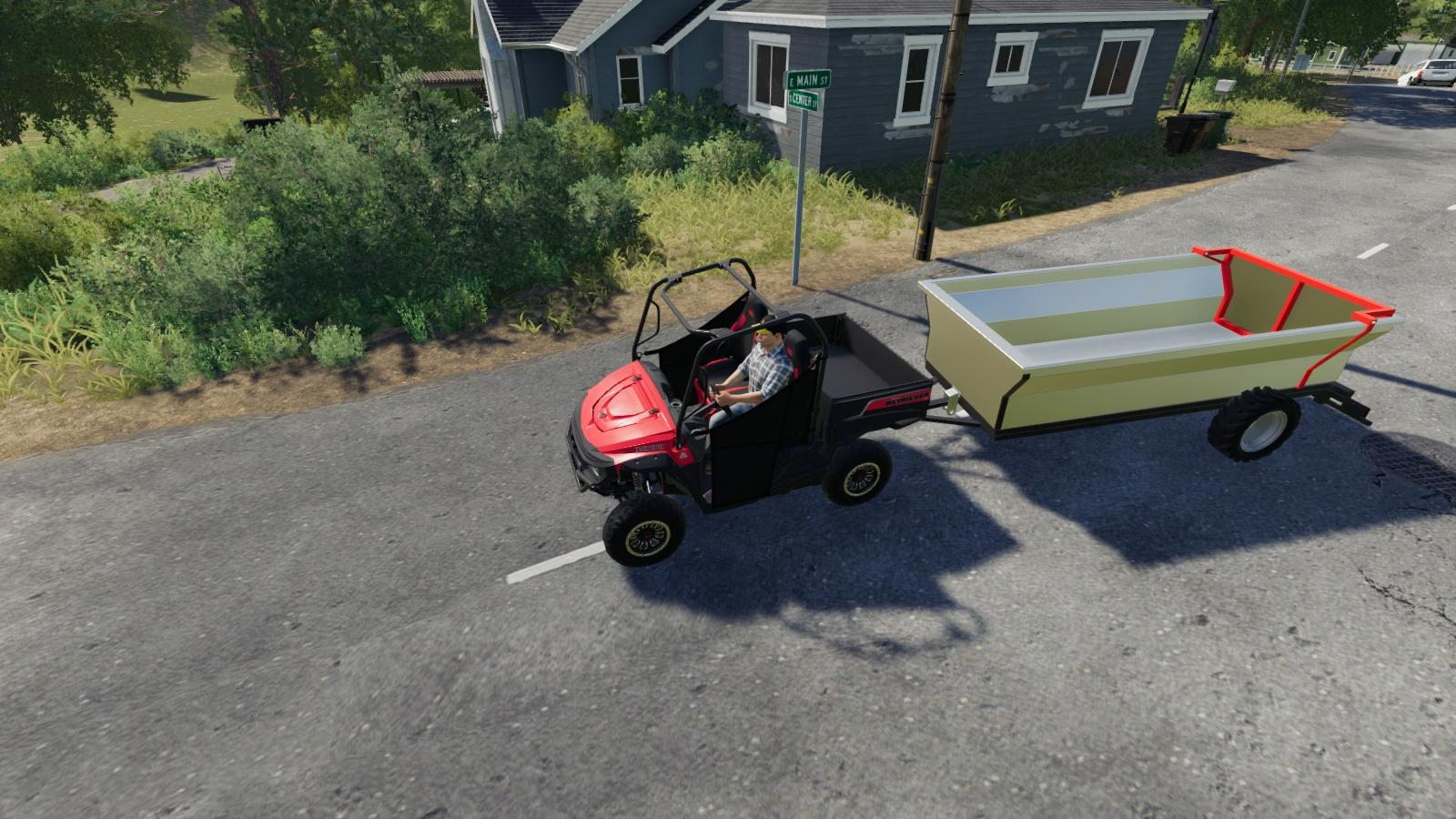 ATV Tipper Trailer v 1.0