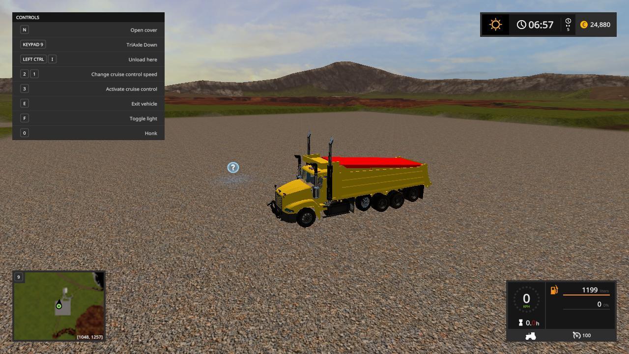 Mack vision plow truck v 1.0