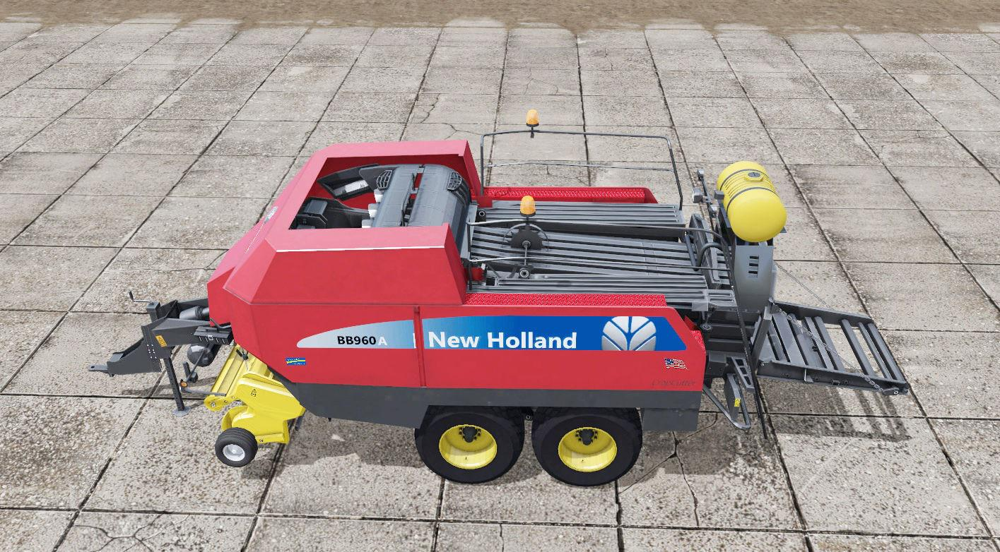 New Holland BigBaler 960 v 1.0