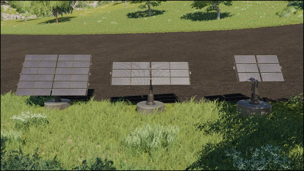 Placeable Solar Panels v 1.0
