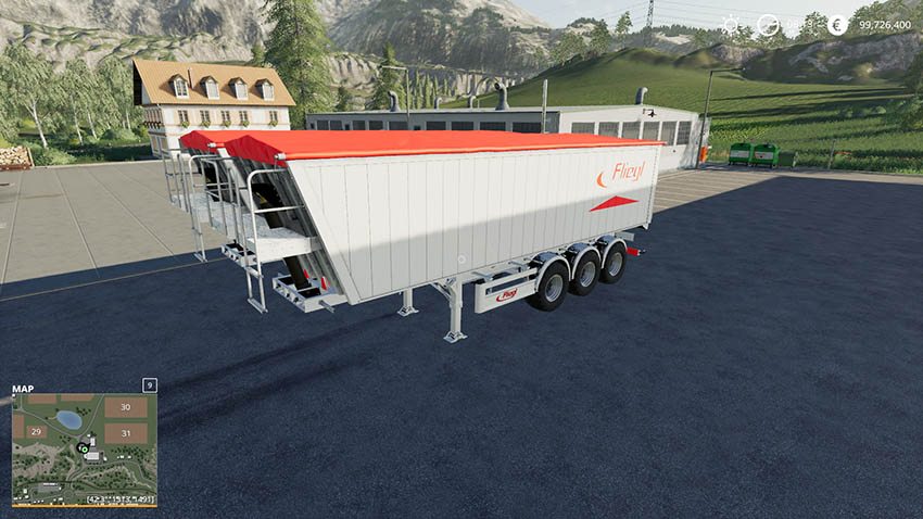 Fliegl GreenLine Trailer v 1.0