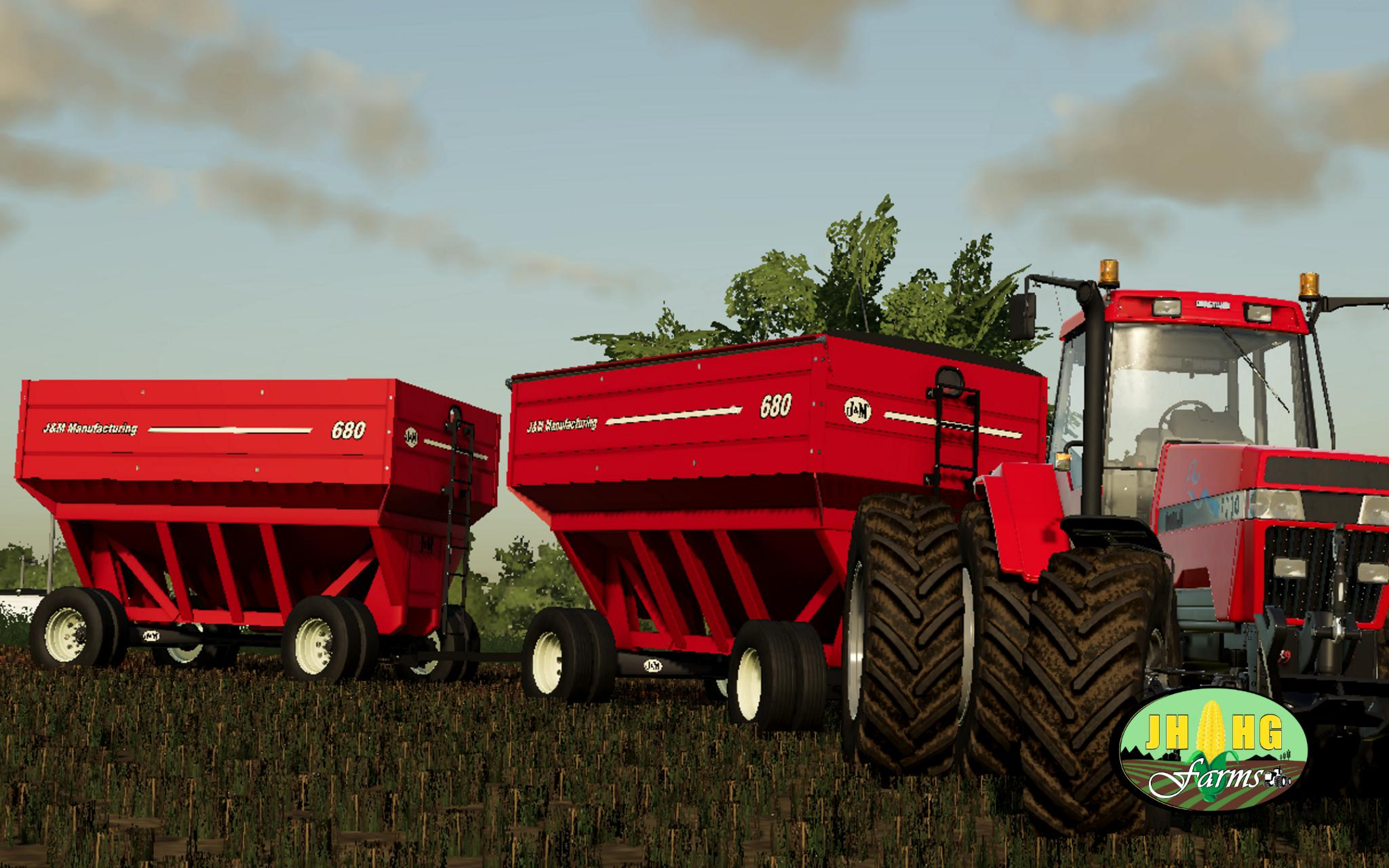 J&M 680 Gravity Wagons v 1.0