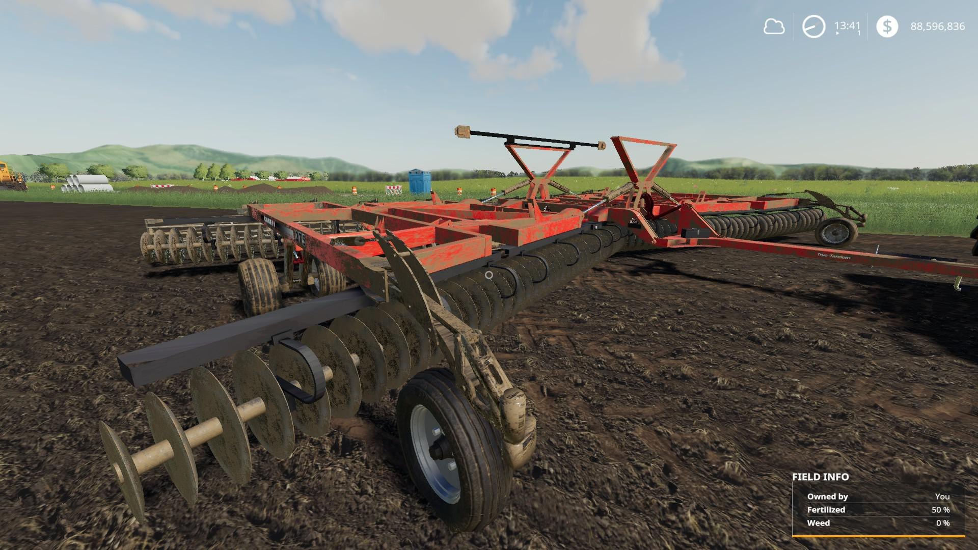 Case IH True-Tandem 375 Disk Harrow v 1.0