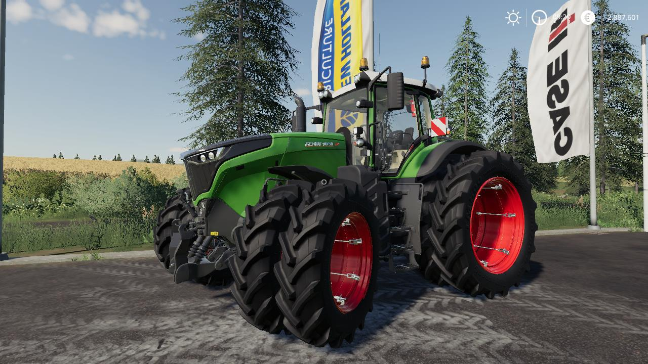 Fendt 1000 Vario + BigX 1180 By Stevie