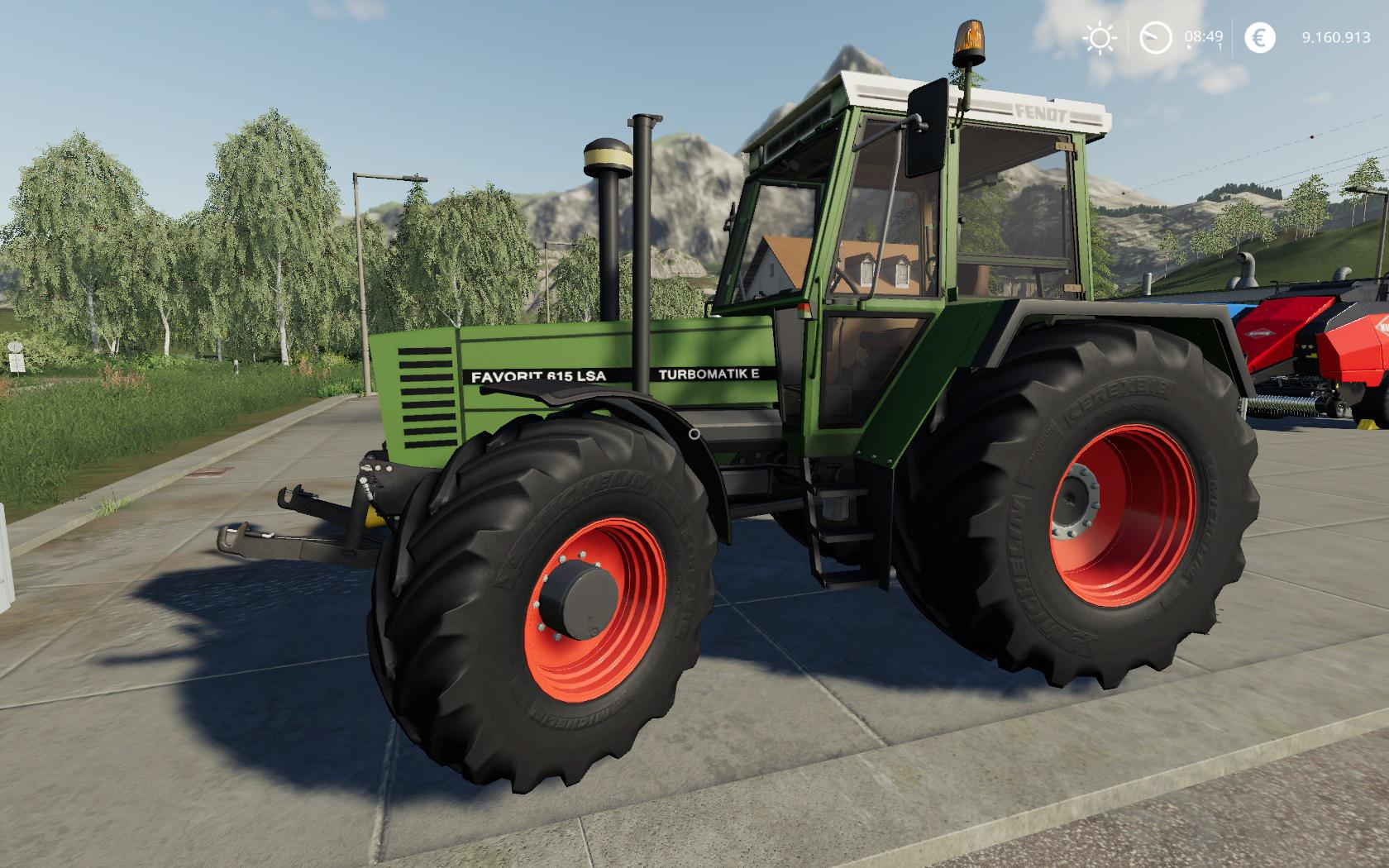 Fendt Favorit 600 LSA Alpha v 0.0.0.7