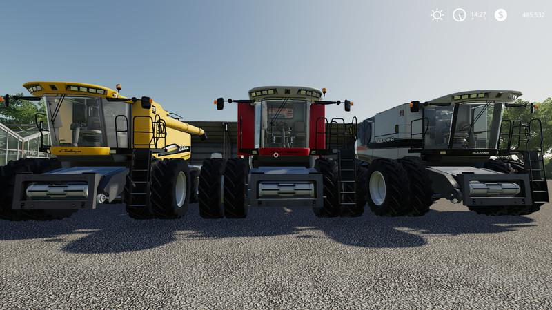 AGCO Rotary Combines Pack v 1.0