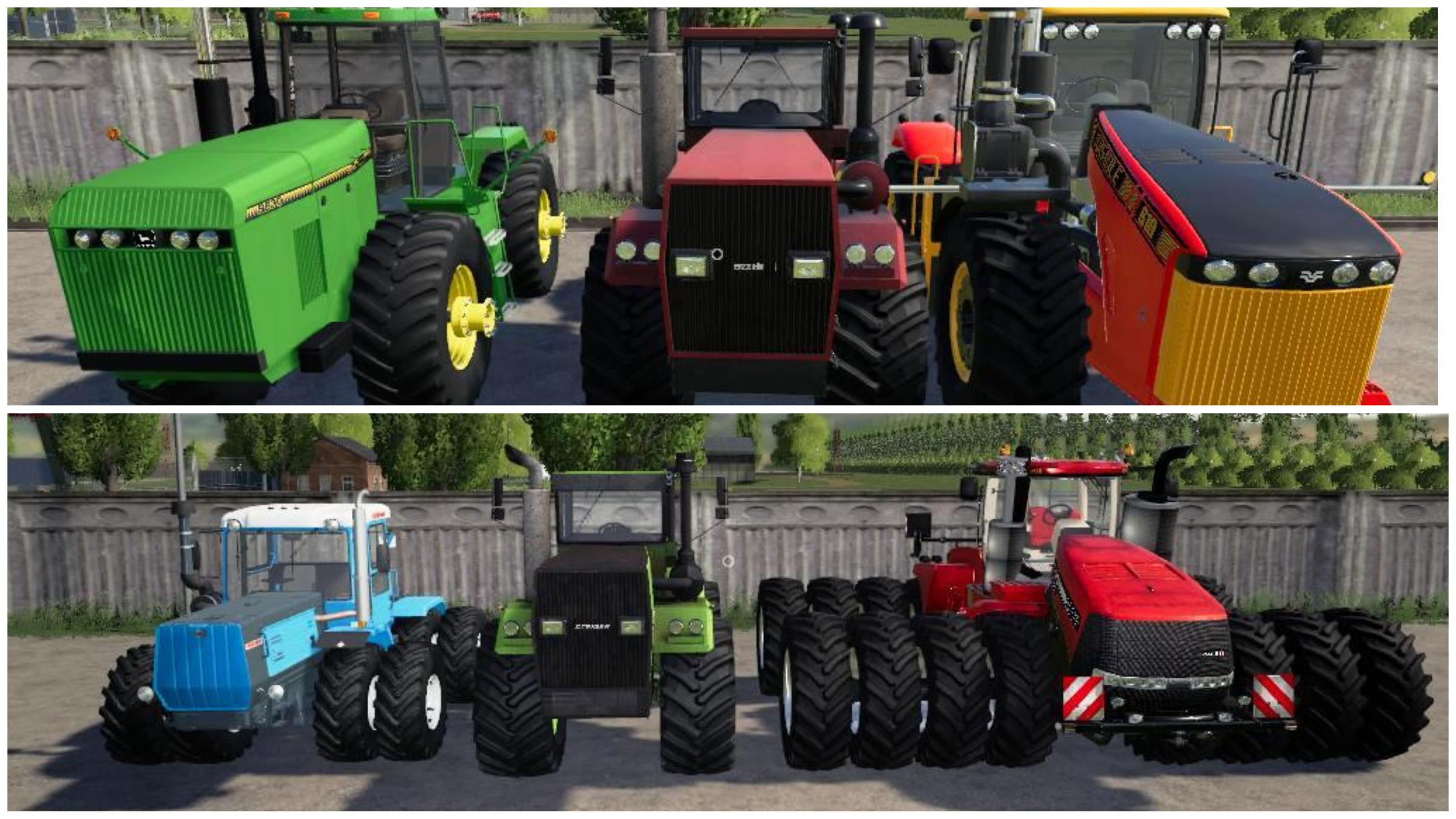 Pack POWERFUL TRACTORS v 2.0
