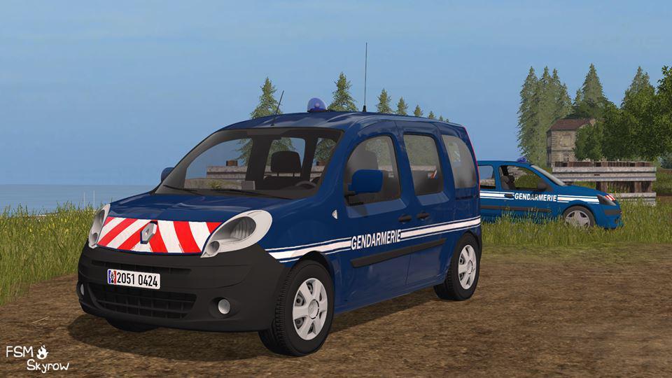 Renault Kangoo Gendarmerie v 1.0