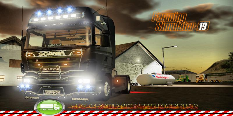 SCANIA SUPER R730 ALIEN v 2.0