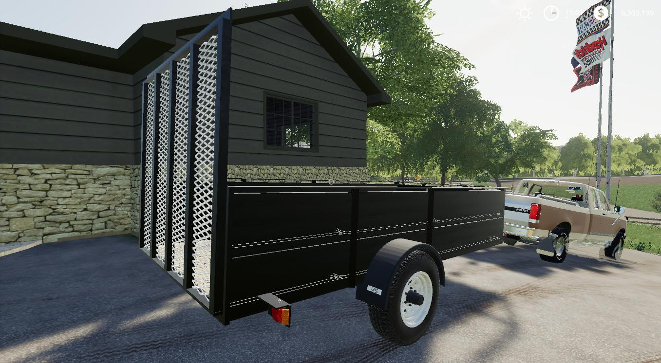 1999 Neal Manufacturing Utility trailer v 1.0