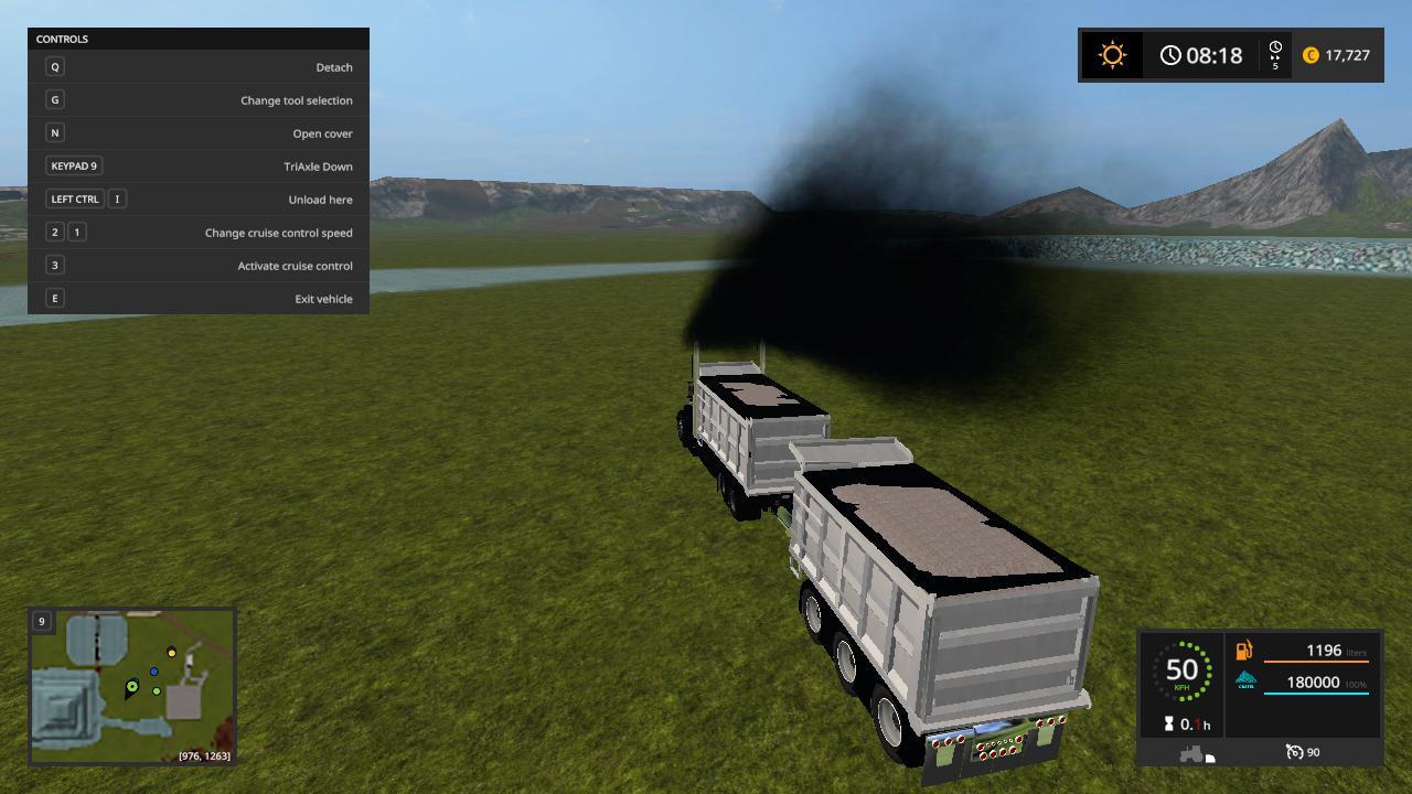 Custom peterbilt dump truck and matching pup trailer v 1.0.0.3