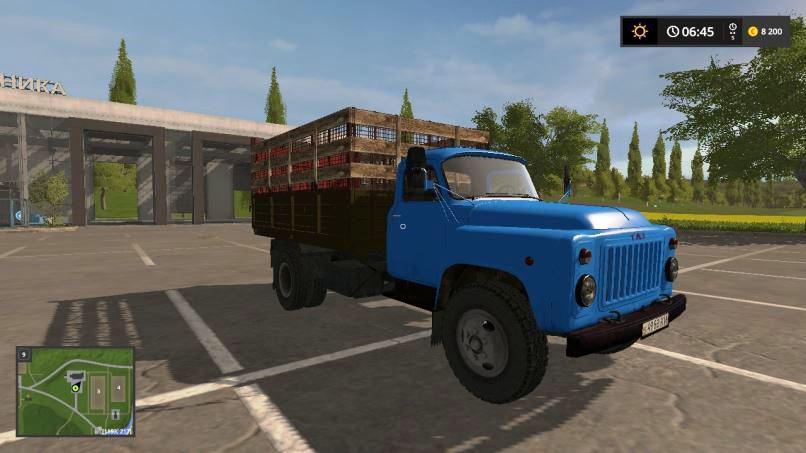 GAZ 53 Silos v 1.1