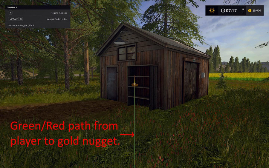 Gold Nugget Finder v 1.0