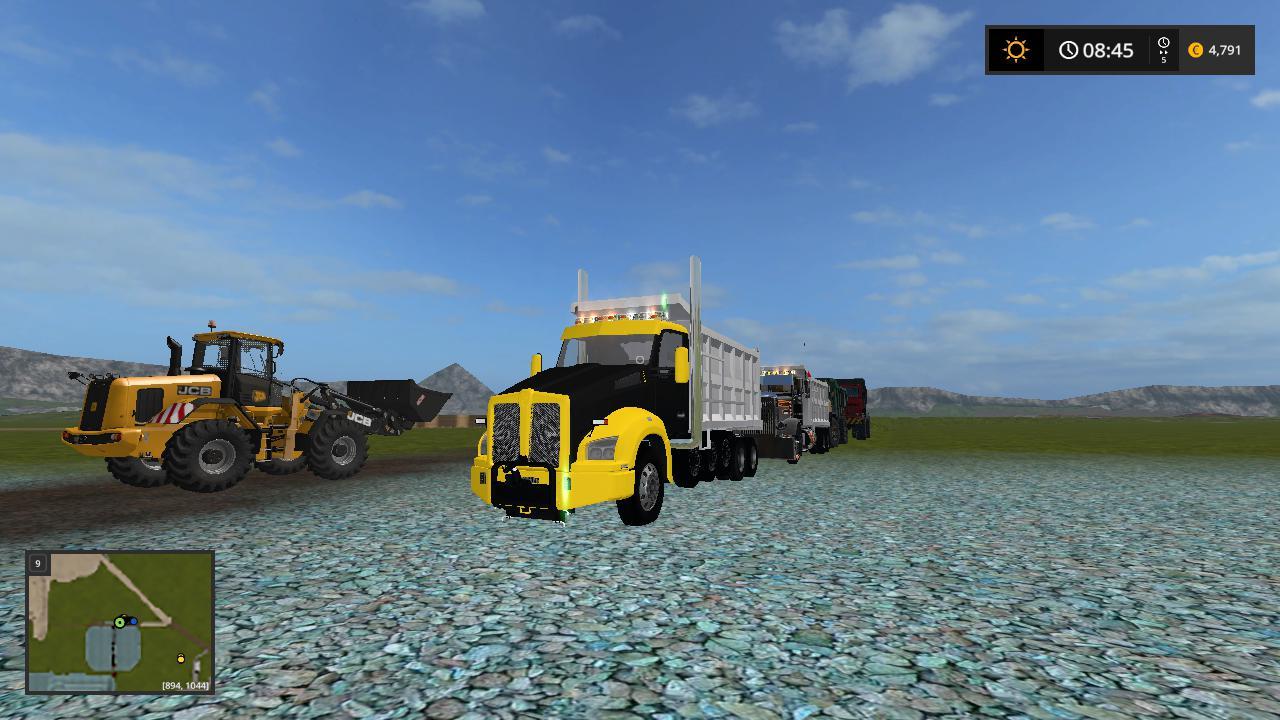 Kenworth t880 dump truck v 1.0.0.3
