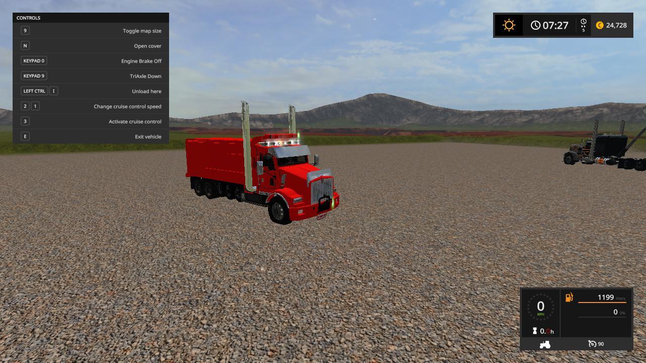 KenworthT800 dump truck v 1.0.0.2